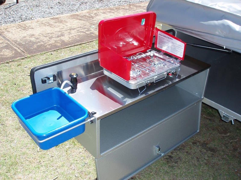Fortescue Soft Floor Camper Trailer